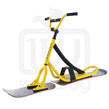 Hot sales freestyle skiing equipment snowscoot for adult snow bike
