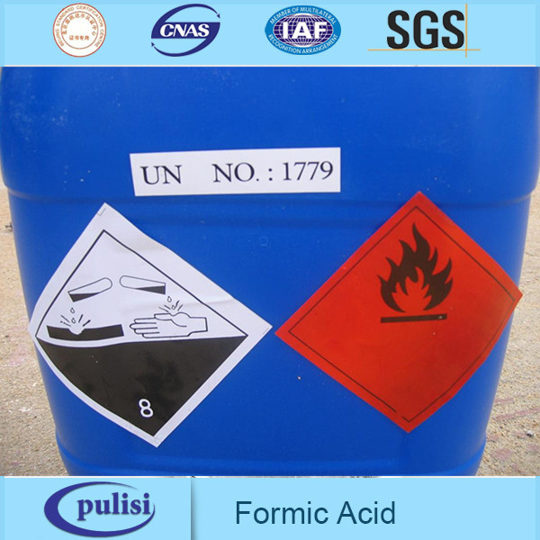 PLS leather chemical msds coa sodium formate formic acid