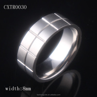 High Quality 8mm Titanium Wedding Ring Band