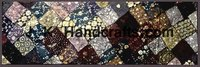 Shimmer Sequin work Fabric Patchwork WALL DECOR
