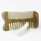afro horn beard comb hair brush lice comb hair care product moustache comb
