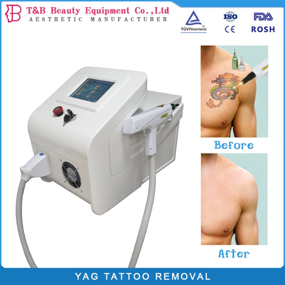 2017 high effective tattoo removal q switch nd yag laser 1000w