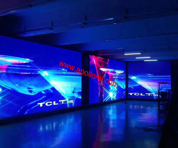 video background stage electronic led signs P7.62mm screen