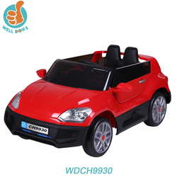 WDCH9930 2.4G Remote Control Mini Two Seater Cars For Sale, Child Ride On With Suspension