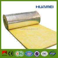 fiber glasswool with aluminum foil insulation building material