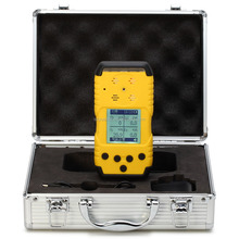 Portable diffussion type 4 gases multi gas detector CO O2 H2S CH4 LEL for mining use