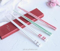 100% Porcelain Chopsticks With Logo/Chinese Chopstick with color printings