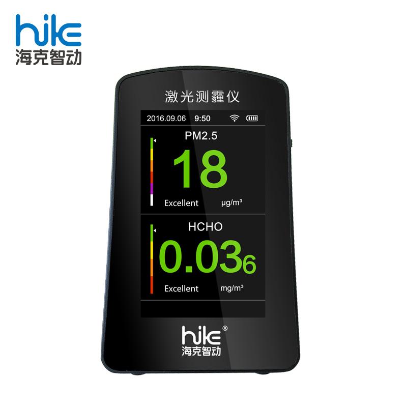 AQI צג מבחן פורמלדהיד PM2.5 pm10 pm1.0 WiFi אוויר באיכות צג HCHO גלאי