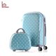 Fancy Printed 2 pcs Luggage Set Travel PC Makeup Suitcase