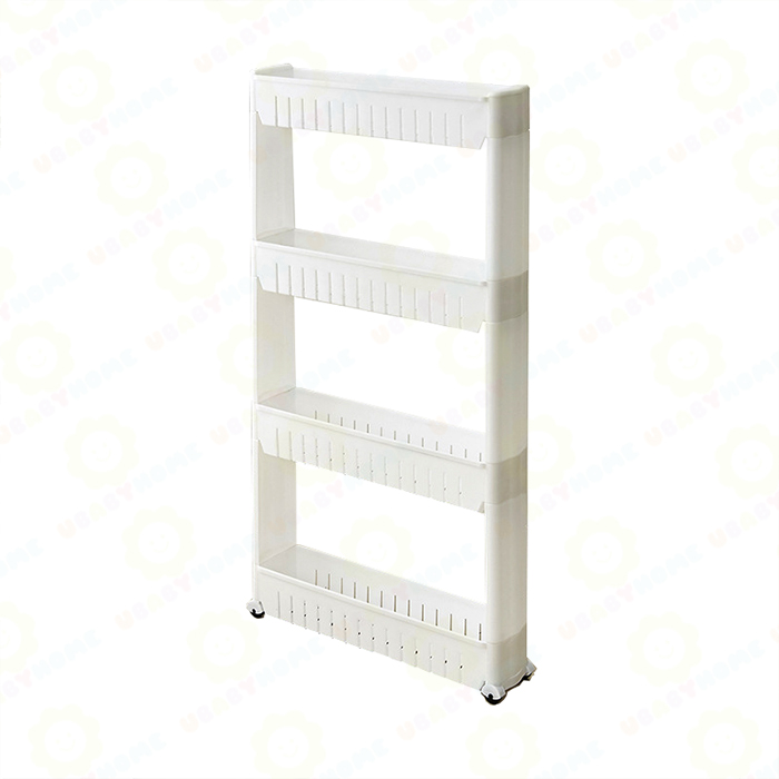 plastic kitchen rack/plastic storage good sale bathroom shelf for bottle