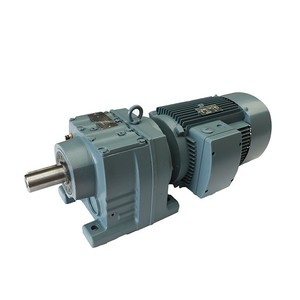 Competitive price R series gear reducer R37 helical gearbox industrial  cement mixer