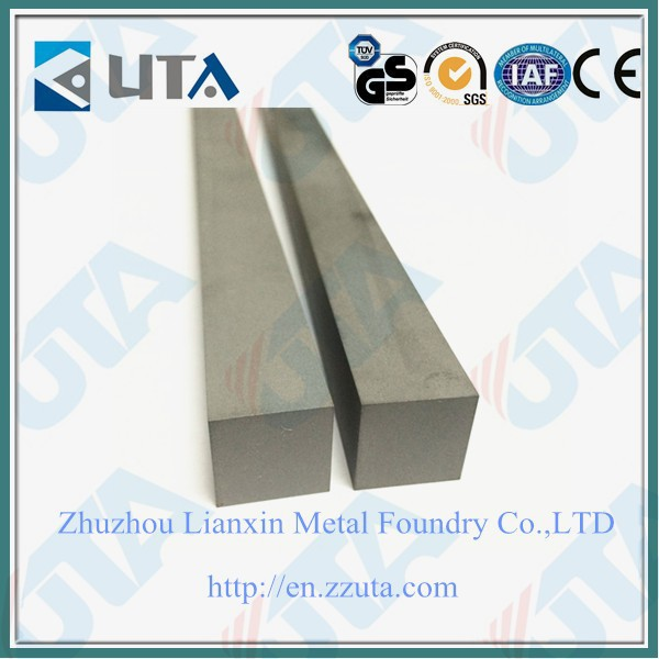 Rectangular tungsten carbide bar hard metal bar with high quality and good price