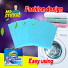 Eco-friendly material, fast dissolving laundry sheets with hand care