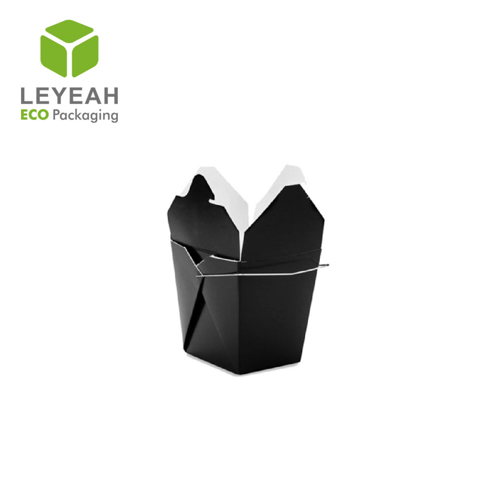 Sample brown color kraft food box and easy set up boxes with paper materials