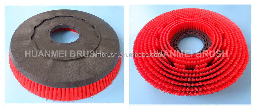 High quality Auto Scrubber Rotary Floor Cleaning Brushes