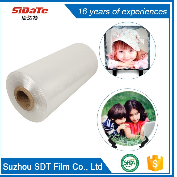 Water Proof Tear Resistant Printable Customized Size Photo Crystal Printing Film