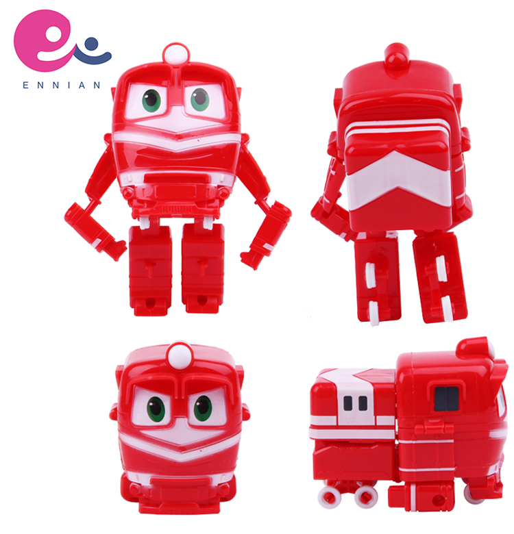 Robot Trains Real Transfer KAY Educational Toys Deformation Train Toys for <strong>Kids</strong>