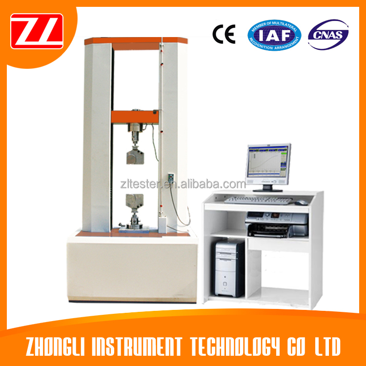 Industry Double Pillar Servo Control Universal Testing Machine Max Capacity 300KN
