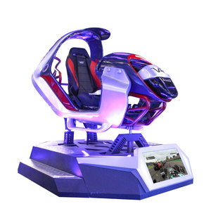 Virtual Reality Car Shaped Machine Motion Seats Racing Simulator Car Game Driving