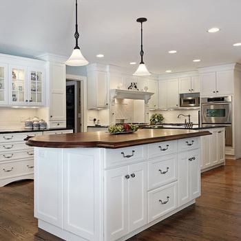 Modular Kitchen Cabinets/ Solid Wood Walnut Kitchen Cabinets - Buy Solid  Wood Walnut Kitchen Cabinets,Solid Wood Walnut Kitchen Cabinets,Modular ...