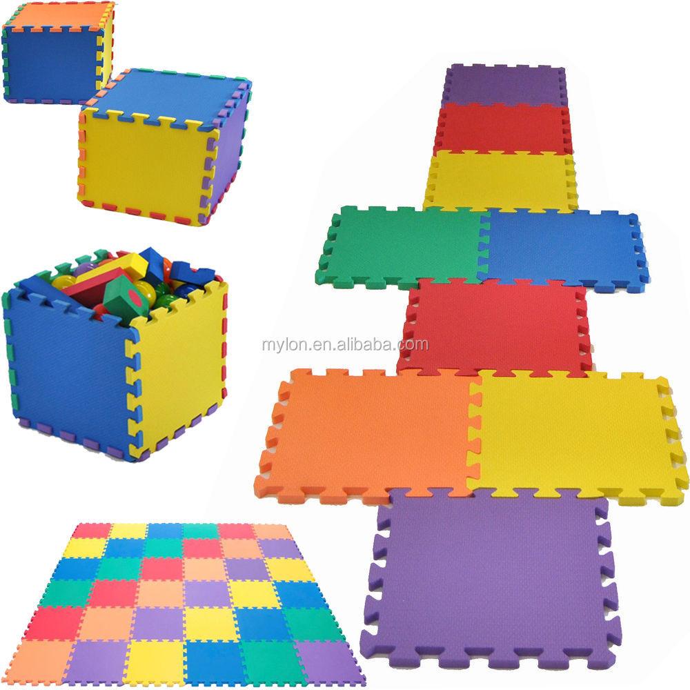 36pcs Alphabet Numbers EVA Floor Mat Baby Room Jigsaw Mat Soft Foam Puzzle DF