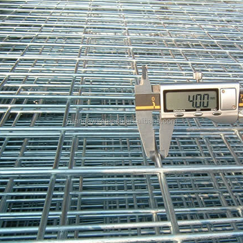 5x5/2x2 Galvanized Welded Wire Mesh Fence Panels In 6 Gauge - Buy ...