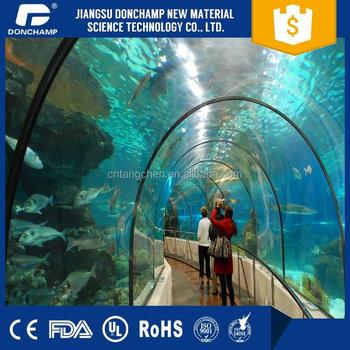 large plastic fish tank huge acrylic aquarium tunnel cheap price rh alibaba com
