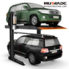 Hydraulic 2 levels elevated Car Parking System