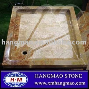 Onyx marble Shower Tray