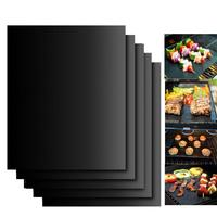 0.2/0.3mm Non stick bbq grill baking mats liners reusable and easy to clean bbq grill mat