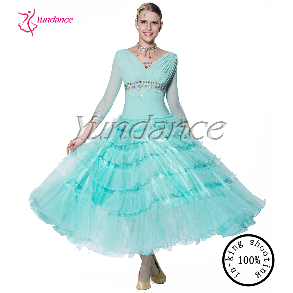 B-13472 Beautiful 100% Luxury Ballroom Dancing Dresses China Ballroom Dress  China 4596752b1