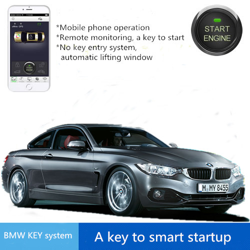 mobile phone remote engine start stop control Safaty System keyless for bmw