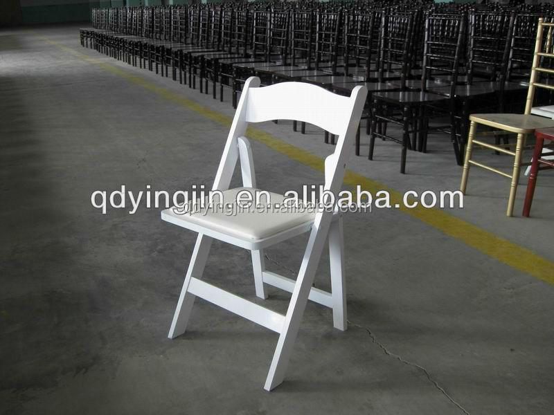 Gladiador silla sillas de jardin de madera blanca wedding for Sillas jardin blancas