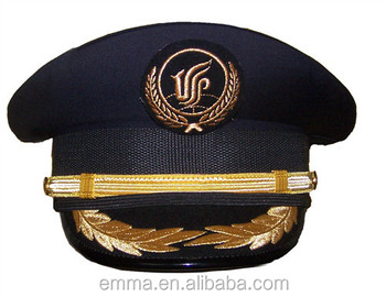 New Style Airline Pilot Hats Wholesale With Good Quality Ht2043 ... da2e9f729a1