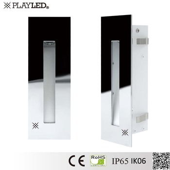 3w recessed led step lights high voltage led light stairs corridor