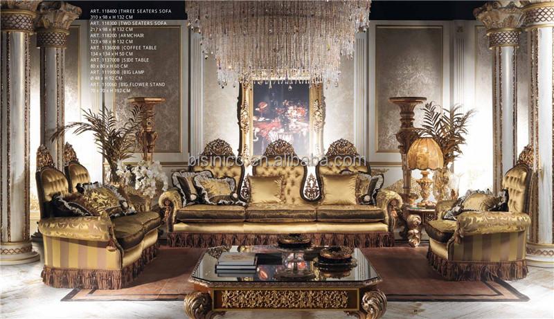 New Italian Creative Luxury Design Living Room Sofa Ornate Individual Back And Fringes Le On Tufted