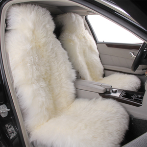Genuine Australian sheepskin car fur seat Cover