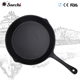 12 inch Metal cast iron paella pans