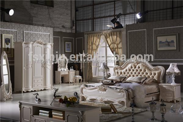 Mobilier De Chambre Se/lit De Style Princesse/indonésie. Adulte, L102a  Chambre