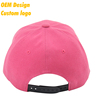 OEM Top Quality 100% Cotton gold buckle sun Visor 6-panel embroidered Azalea Hip- Hop baseball hat for adults