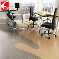 vinyl floor tile and sheet vinyl with 0.2-0.7mm wear layer