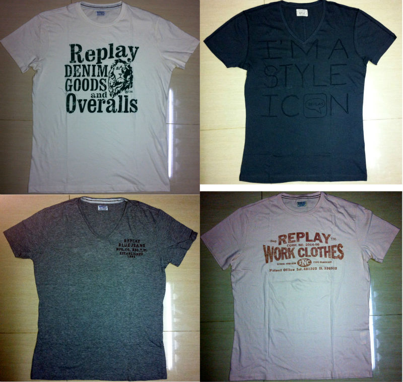 Branded T-Shirt Stock Lot High Quality