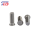 Heat treatment 416 stainless steel strength pressure riveting screw