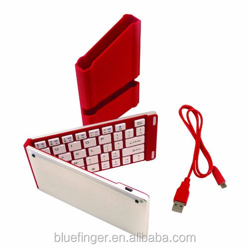 Wireless Bluetooth 3.0 Universal aluminum Folding Keyboard for Smartphones - for Iphone, Htc,Samsung GALAXY Note 3/Samsung GAL