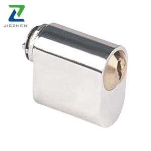 Mortise cylinder push lock keyless
