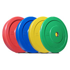 bumper plates jiuli fitness Competition bumper plate Rubber bumper weight Plate set