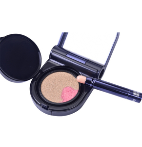 Portable foundation korea touch up face lip makeup air cushion cc bb cream sun cream