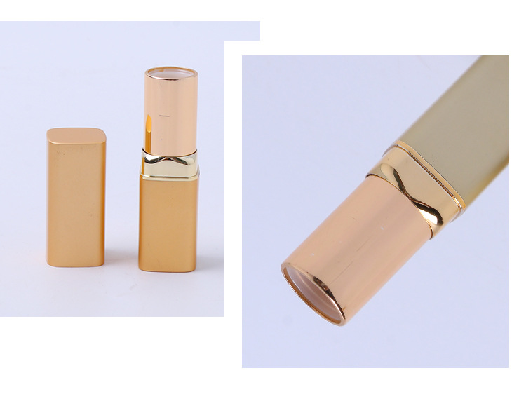 2018 new metallic lipstick empty tube sandblasted color lip glaze lipstick tube