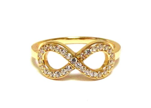 hottest products on the market 925 silver infinity rings