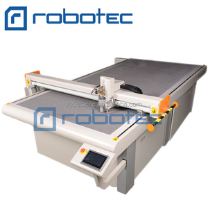 Auto feeding oscillating Knife Leather Cutting Machine for leather car met cutting machine
